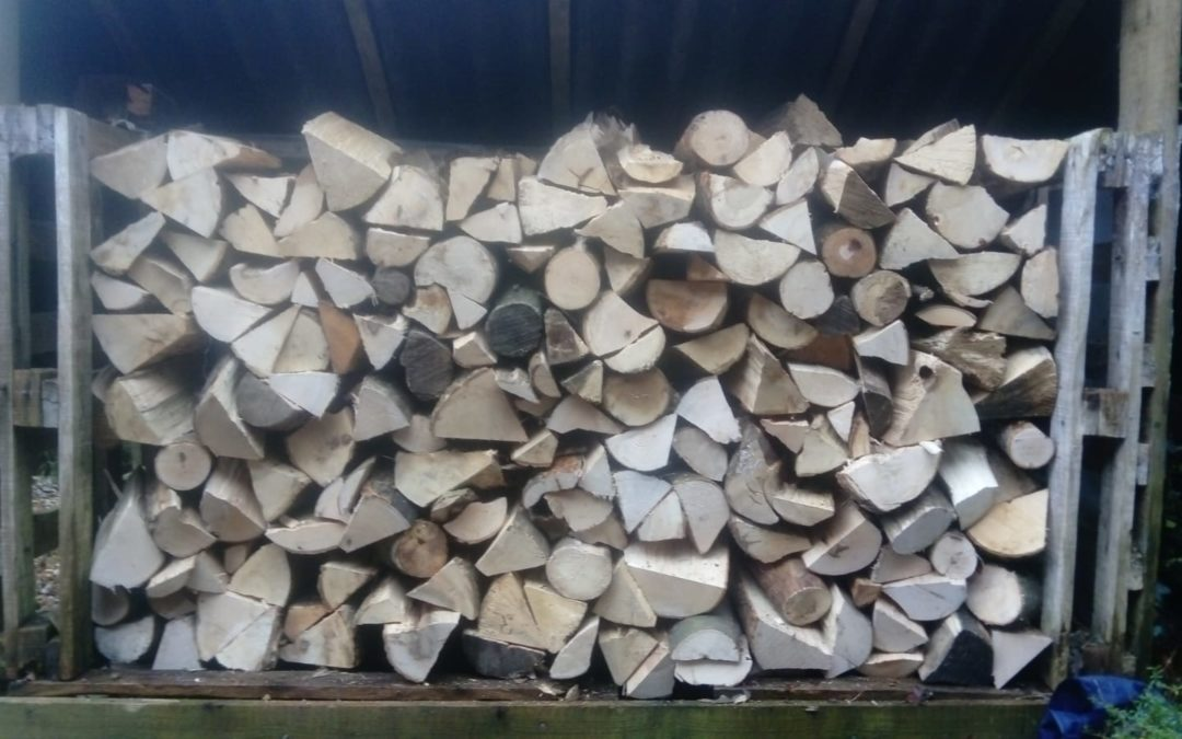 Seasoned logs delivered to Winchester